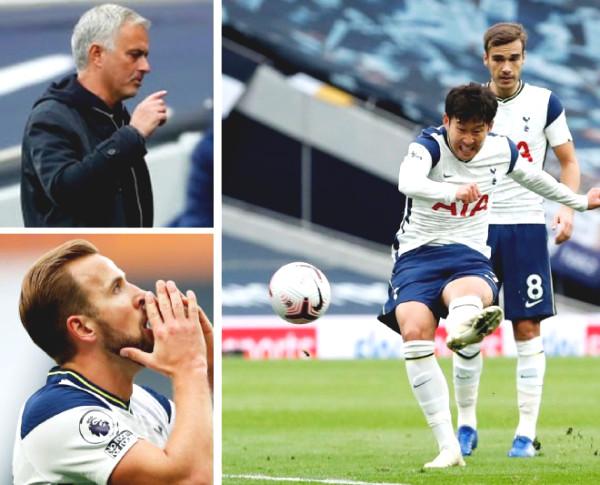"Tottenham stumbled: Mourinho ""dealt with"" Son Heung-Min, Kane's bitter red card"