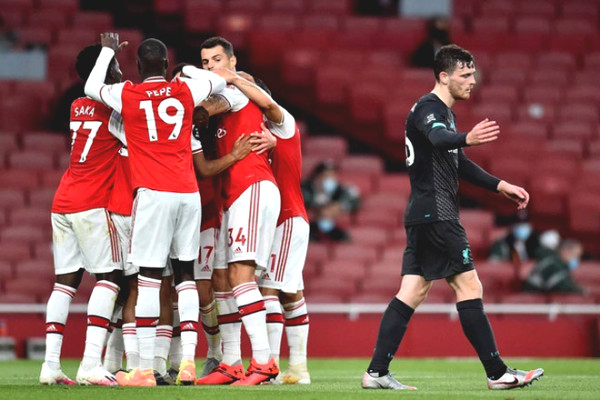 Verdict football Liverpool - Arsenal: Great War took 3 points to break