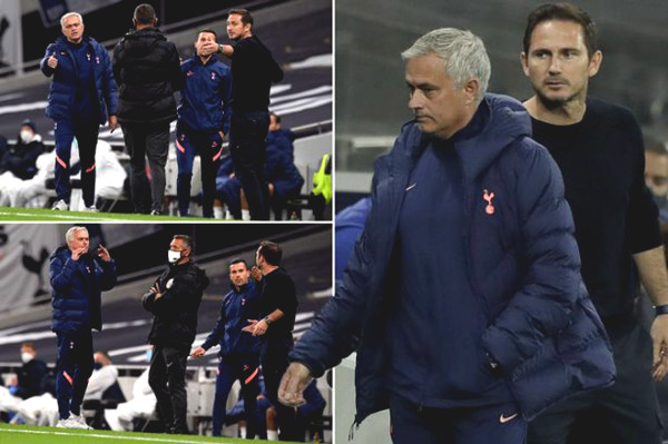 Mourinho argued with Lampard, unexpectedly left into the tunnel in the middle of the match