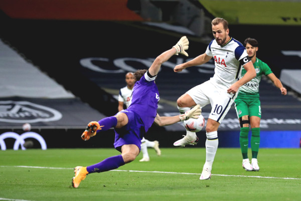 Harry Kane glowing hat-trick, Tottenham crushed rival 7-2 at Europa League