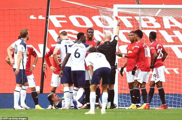 MU - Tottenham: Solskjaer demanded kicking out Lamela, Mourinho responded extremely harshly