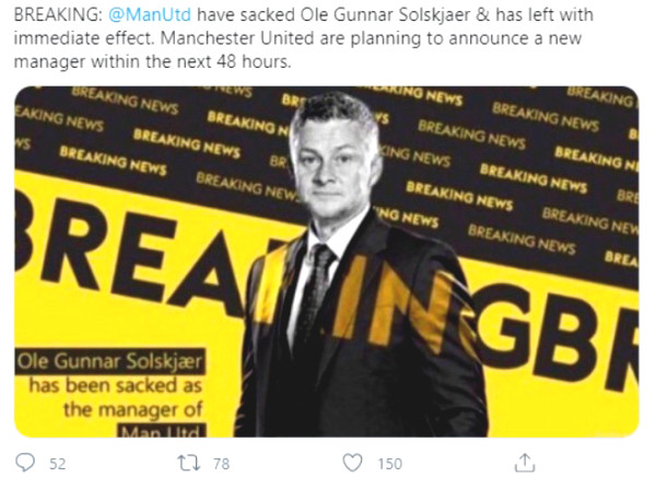 MU lost in shame: Millions of fans demanded dismissing Solskjaer instantly, an SOS for Pochettino