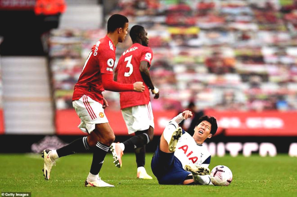 "Son Heung-Min got injured but was still able to score to destroy MU: Mourinho ""tricked"" Solskjaer?"