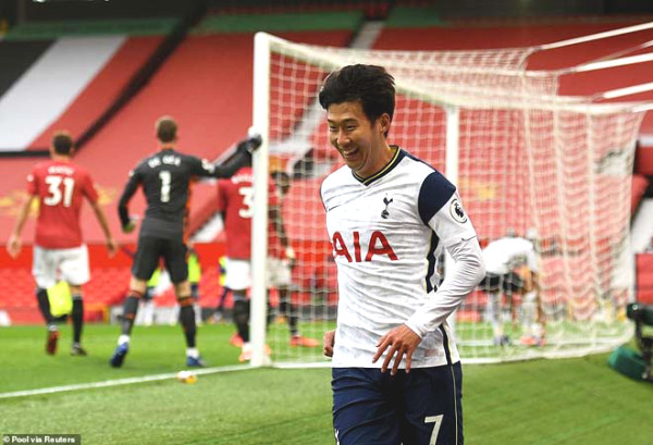 Son Heung-Min scored the injury was