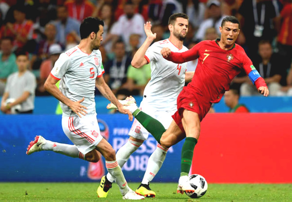 Verdict Football Portugal - Spain: Ronaldo Ramos competed, War peak