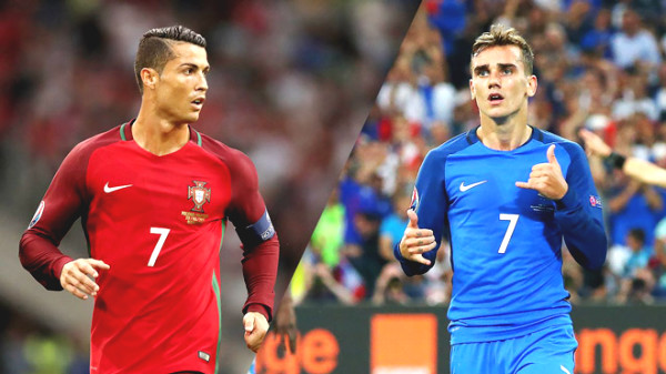Direct football France - Portugal: The ball sideways (End of period)