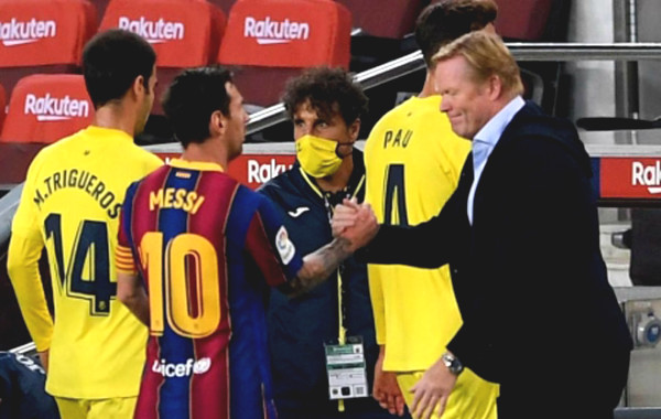 Coach Koeman remove contradictions, give Messi class
