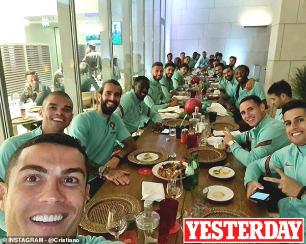 Ronaldo got infected by Covid-19 but still got criticized back home