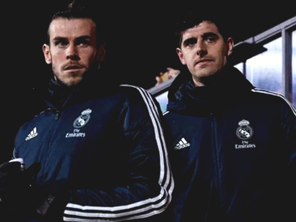 Courtois had a sudden comment about Bale before Tottenham launch