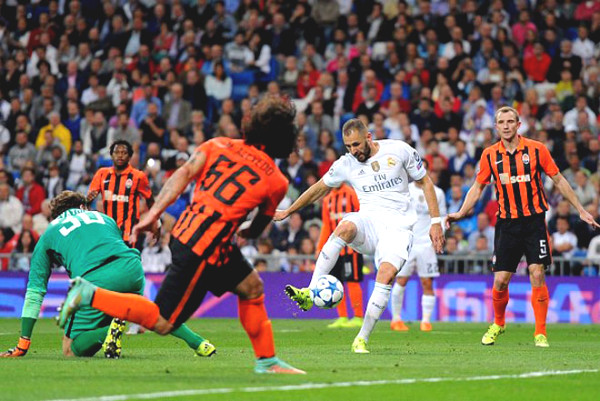 Verdict C1 Cup Real Madrid football - Shakhtar Donetsk: Overcoming yourself, find the joy