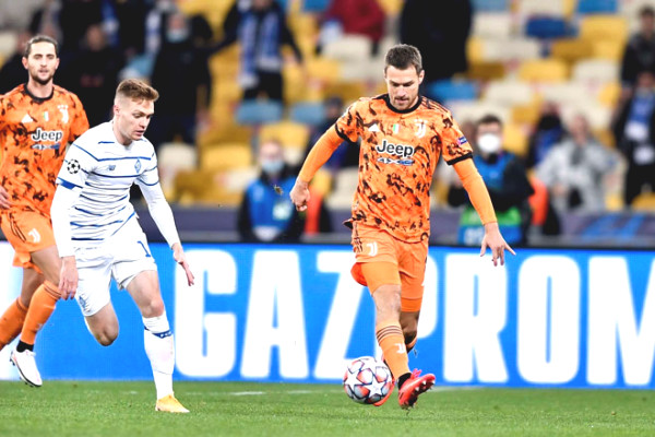 C1 Cup Soccer Result Dynamo Kyiv - Juventus: The turning point at second half