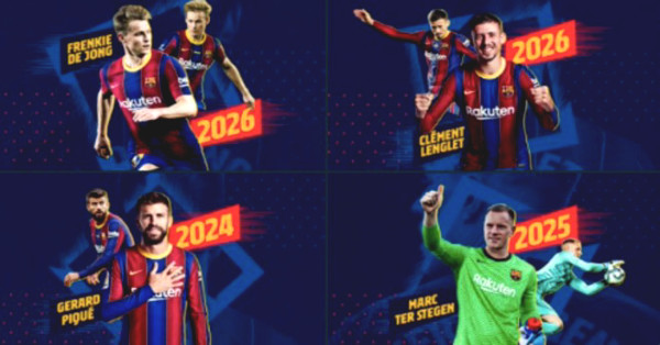 Barca with a destruction win, stunningly announced four signings of 1.7 billions Euros