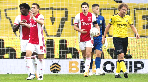 "Stunning with 2 European matches: Ajax won 13-0, ""butcher"" Frimpong paid the price"
