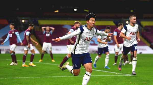 Son Heung-Min scored 8 goals/6 games at Premier League, renowned Asian