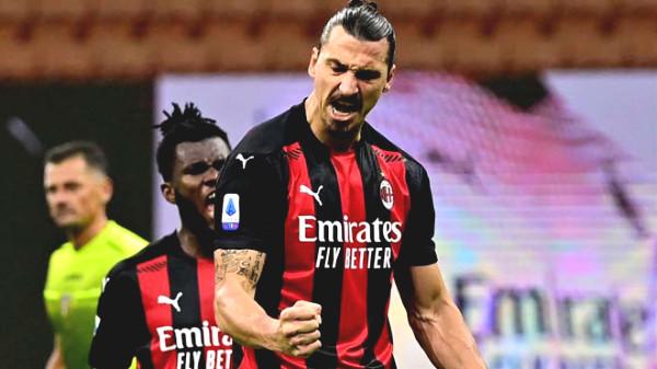 """Stunning Ibrahimovic scored like a """"machine guns"""": 39 years old, score twice as many as Ronaldo"""