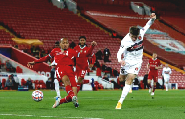 C1 Cup Soccer Results Liverpool - Midtjylland
