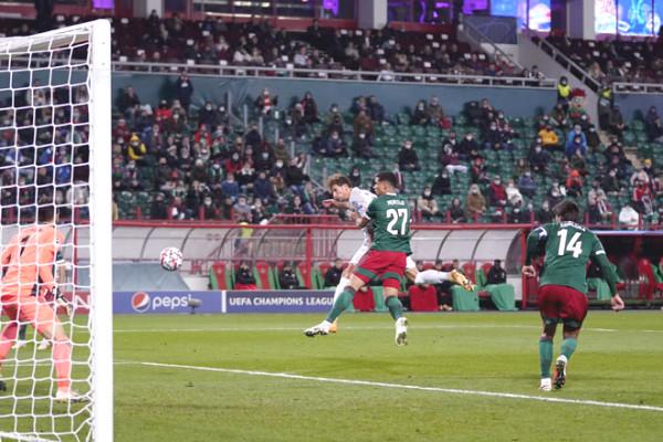 C1 Cup football results Lokomotiv Moscow - Bayern Munich: blockbuster at 79 minutes