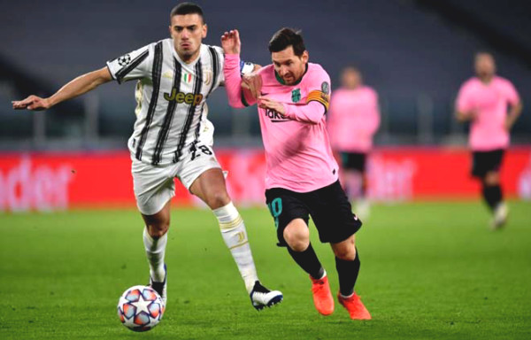 C1 Cup football result, Juventus - Barcelona: parallel Luck, Messi closed down