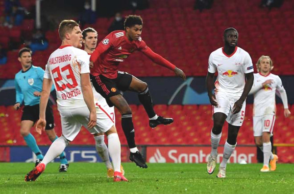 MU defeated Leipzig at C1 Cup: British newspapers praised Rashford as Van Nistelrooy