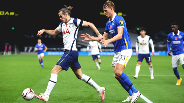 Bale scored after 200 seconds on the yard, Tottenham to the second Premier League