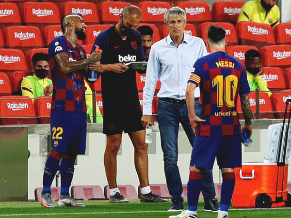 SHOCKING Barca backstage: Coach Setien lost his seat because asking Messi this question