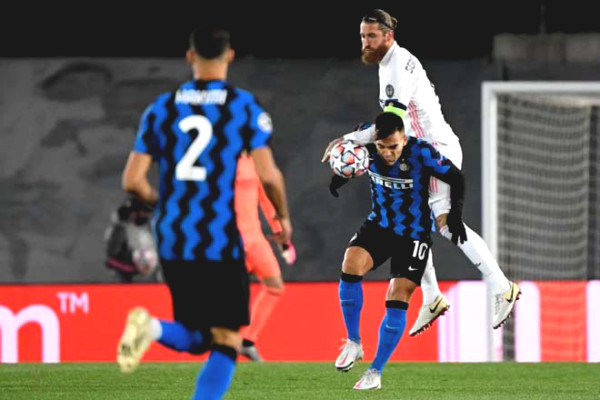 C1 Cup football results, Real Madrid - Inter Milan: Mistakes of old man, chasing 5 goals