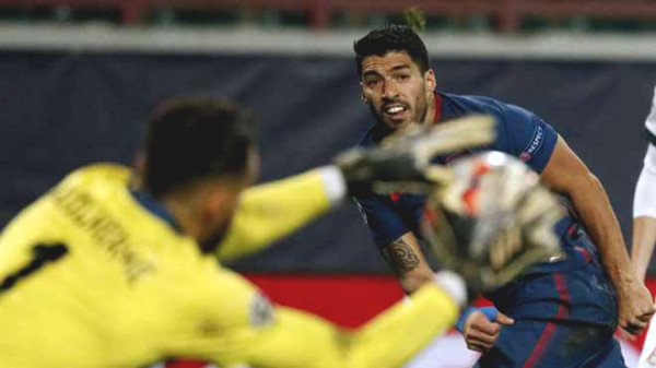 C1 Cup football results, Lokomotiv Moscow - Atletico Madrid: Suarez & Felix are too unlucky