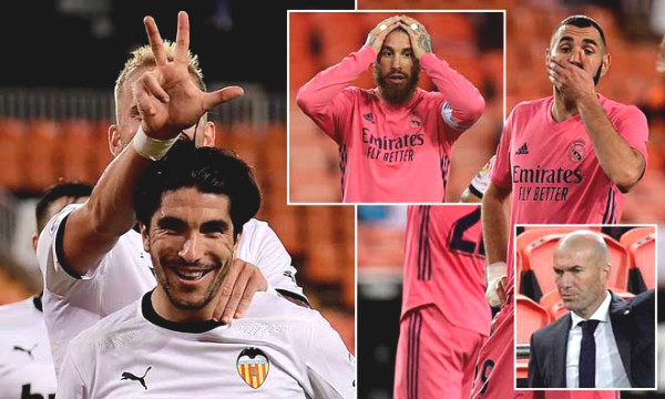 Real lost because of hat-trick penalty, the most spectacular defeat under Zidane dynasty