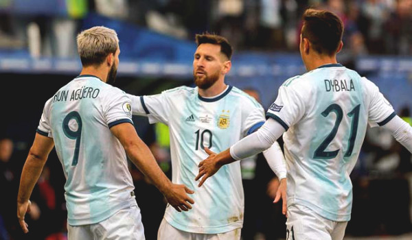Direct football Argentina - Paraguay: The effort failed