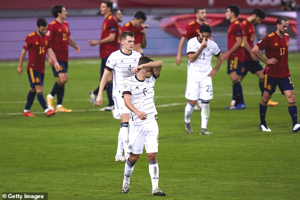 Germany Tel 0-6 defeat before Spain: Worst after 89 years Mesut unexpected reaction