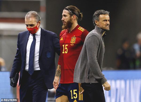 Ramos is injured, Real is broken just like Liverpool
