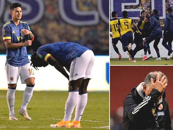 Coming back to Everton, James Rodriguez had a fight with his teammates