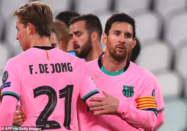 Barca removed Messi from the list of C1 lineup, Coach Koeman gave a shocking explanation