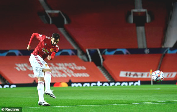 MU - Istanbul: Bruno Fernandes scored (C1 Cup football results)