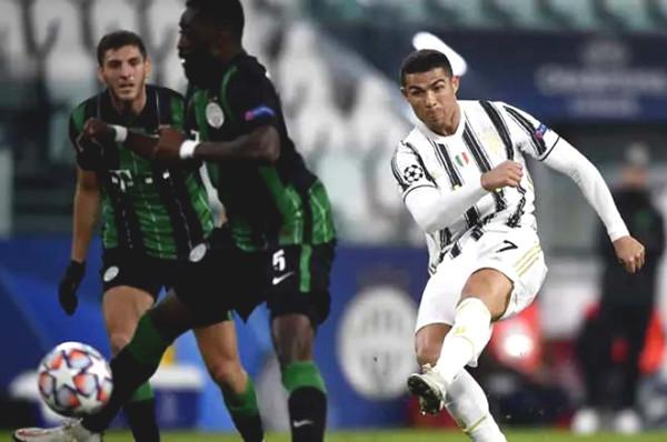 Juventus - Ferencvaros: Ronaldo remark (C1 Cup football results)