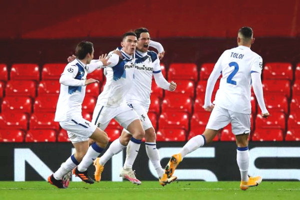 Flaming Great War Cup C1: Liverpool shock failed, Inter oan Real Real