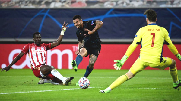 Olympiacos - Man City: classic creation, win next round ticket soon (C1 cup football results)