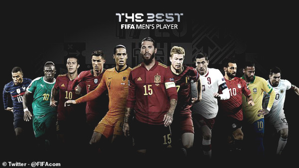 """11 superstars racing for the award """"FIFA The Best"""": 4 Liverpool stars dream of defeating Ronaldo - Messi"""