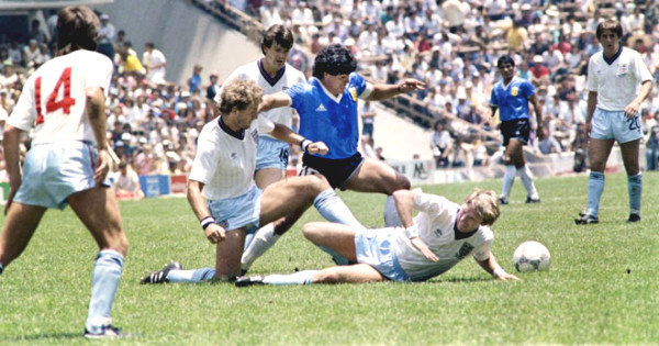 """Maradona scored the most beautiful goal in the century: The immortal show of """"The Golden Boy"""""""