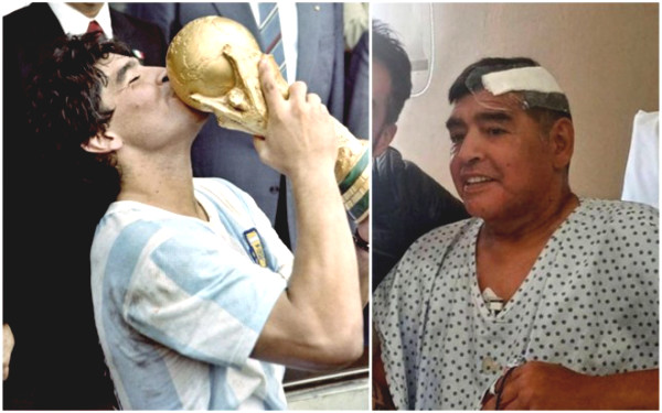 The mystery of Maradona's last day: the words lamented with the grandson before leaving