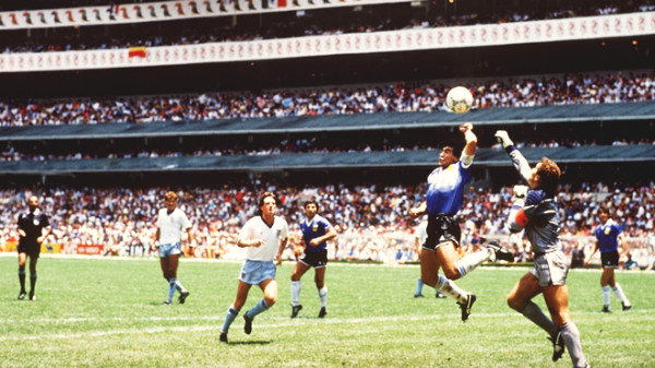 "Maradona did trick to have the goal of ""God's hand"", why was it recognized?"