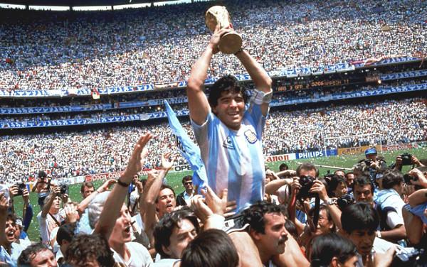 Maradona tricks have a goal of