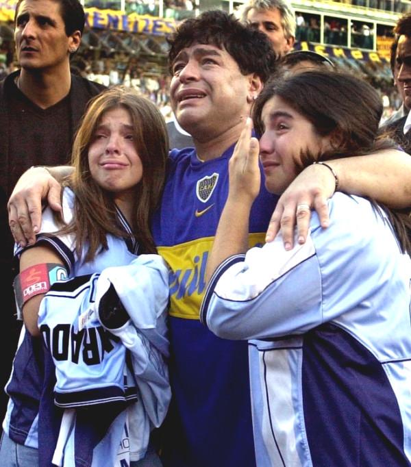Diego Maradona: When the man cried