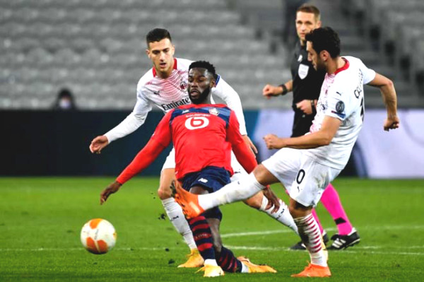 Europa League football result, Lille - AC Milan: Surprising Ibrahimovic, determined in the second half