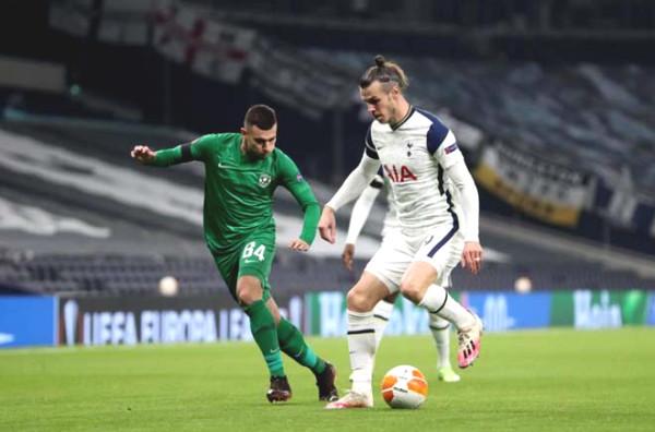 Europa League football result, Tottenham - Ludogorets: Continuous attack