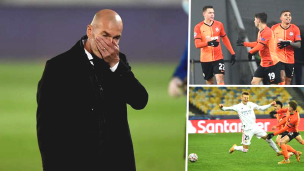 Real is at risk of being eliminated early from Champions League: will Zidane resign?