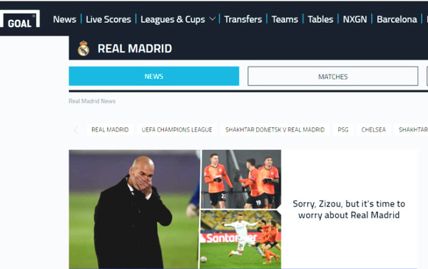 Real risk of early Cup C1: European newspaper waves, Zidane resigned?