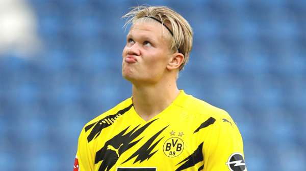 Dortmund suddenly received Haaland injury news, Barca can easily rob with cheap price