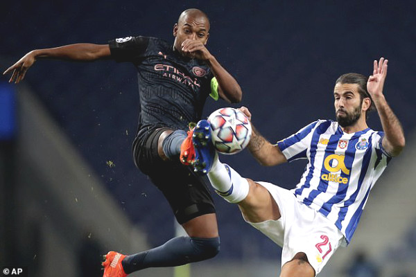 Shocking: Porto insulted 2 stars of Man City and coach Guardiola