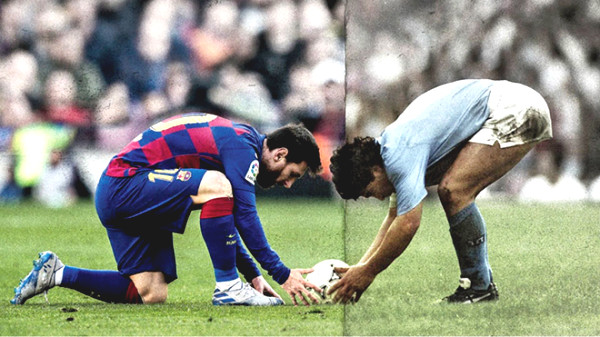 Maradona's son asked Messi to do the unbelievable, Barca is stunned
